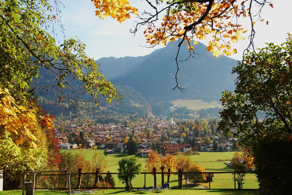 Herbst in Oberstdorf 1