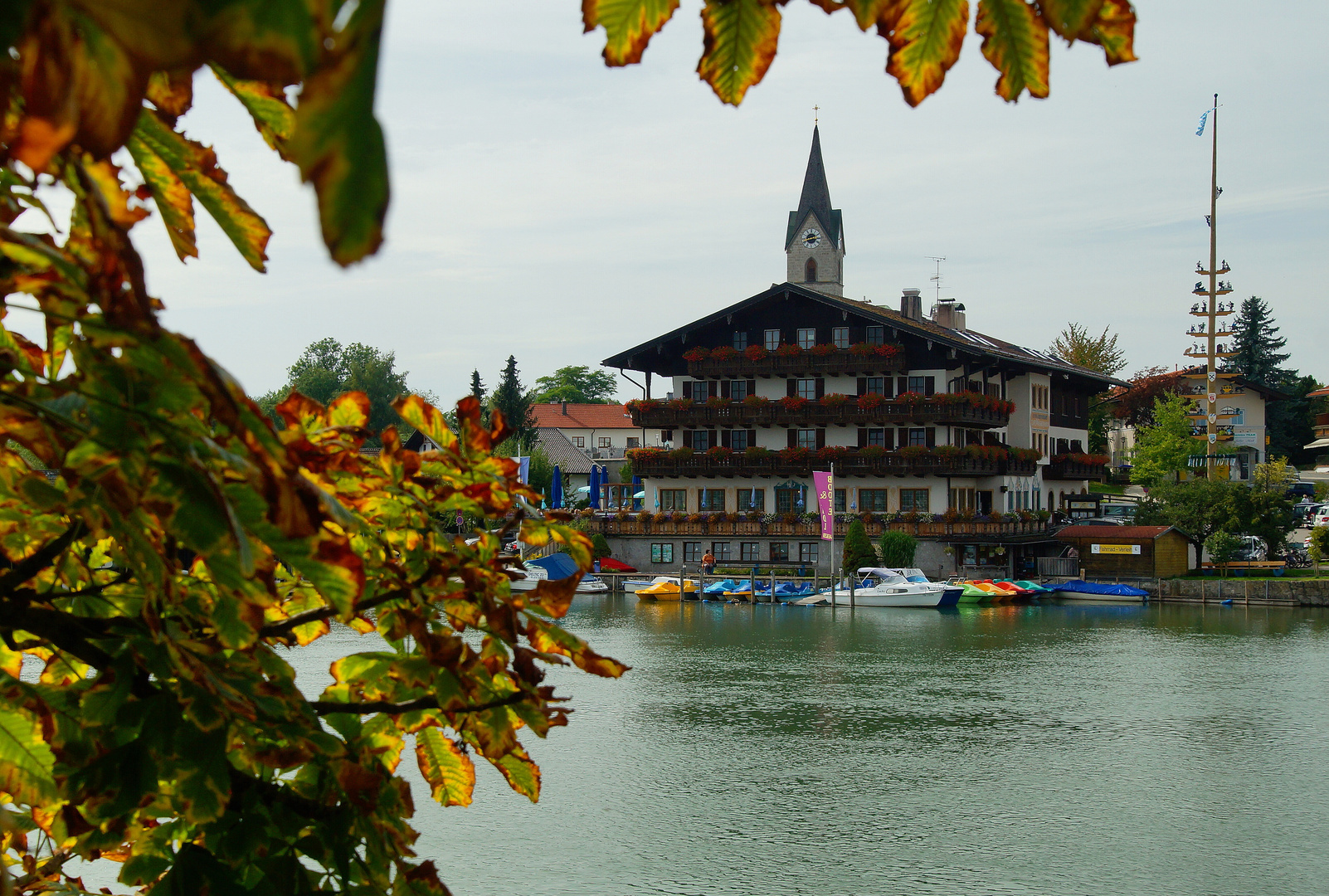 Herbst in Seebruck