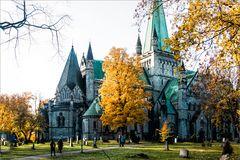 Herbst in Trondheim