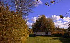 Herbst in Vitte am kleinem Hexenhaus ( Hiddensee)