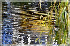 HERBST- Kanal Wasser