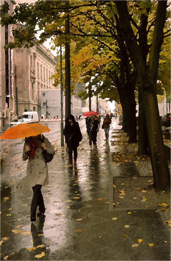Herbst regen...