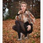 Herbst-Shooting mit Lisa