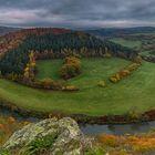 Herbst über dem Lahntal