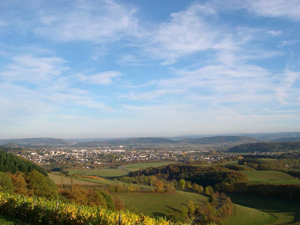 Herbst über dem Wittlicher Tal