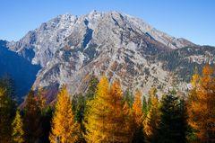 Herbst unter´m Watzmann