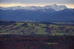 Herbst vor den Bergen