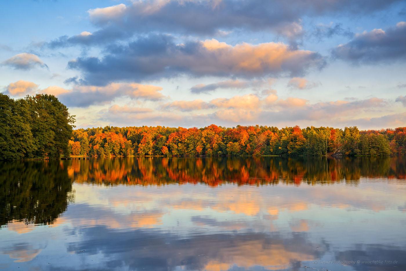 Herbstabend am Liepnitzsee