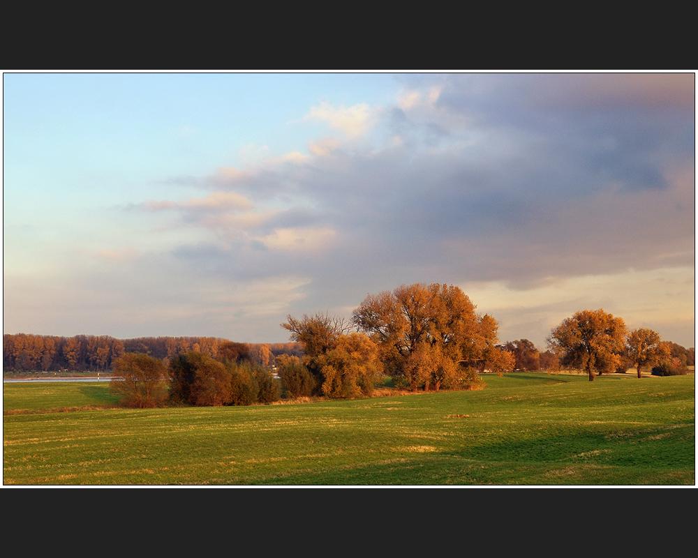 Herbstabend am Niederrhein