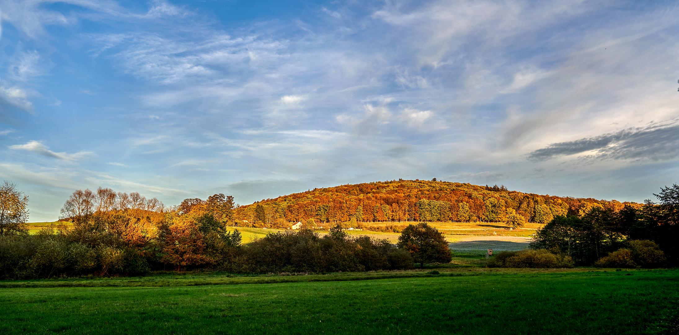 Herbstabend bei Aschaffenburg