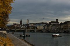 Herbstabend in Basel