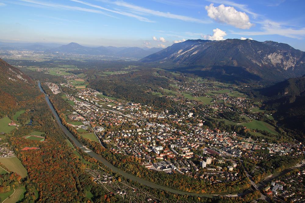 Herbstansichten einer Bergdohle