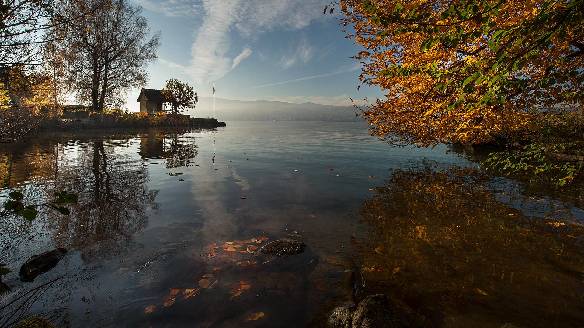 Herbstbeginn am Zürichsee