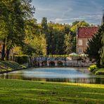 Herbstbeginn auf Burg Hülshoff...