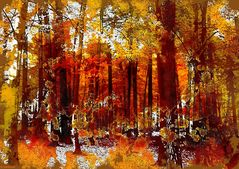 Herbstblätterbunt