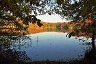 Herbstblick am See
