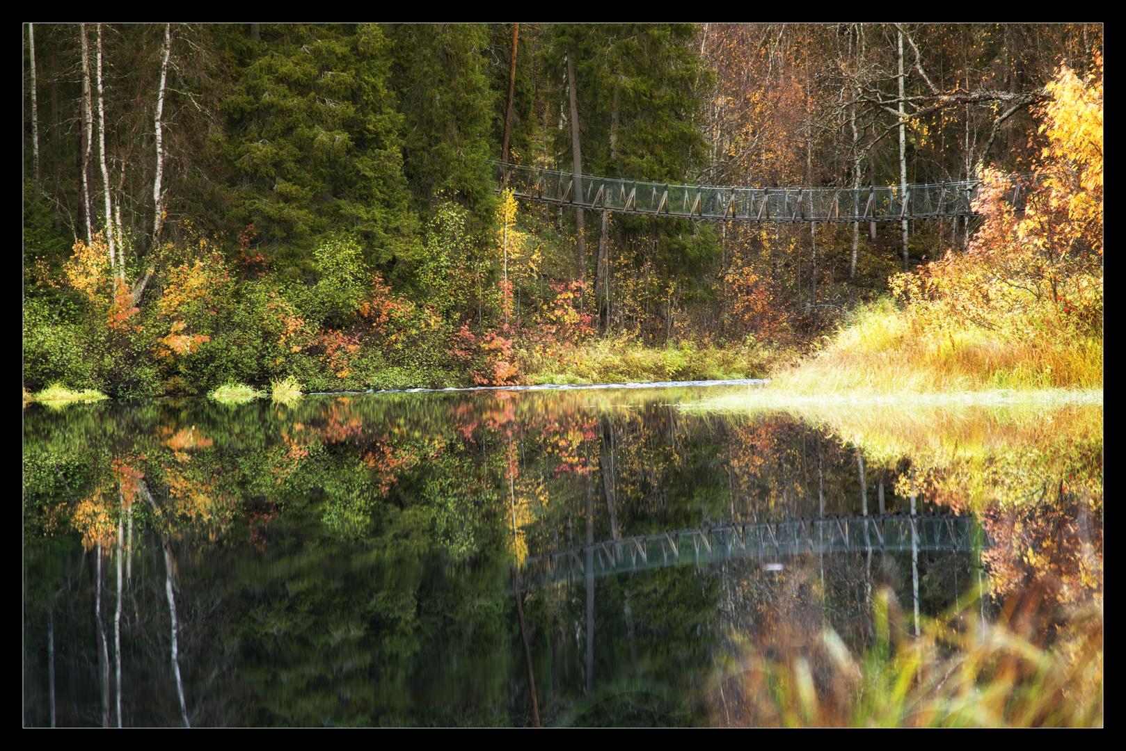 Herbstbrücke