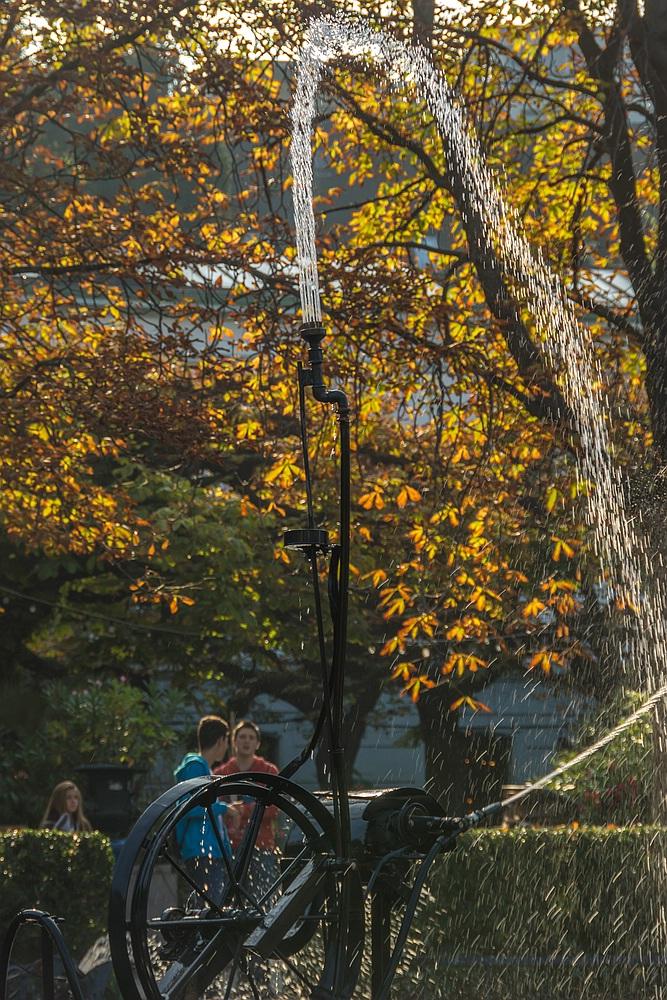 Herbstbrunnen