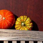 Herbstfarben & Kürbis