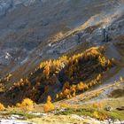 Herbstfeuer im Wallis