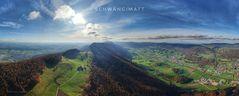 Herbstflug mit der Drohne über der Schwängimatt (CH)