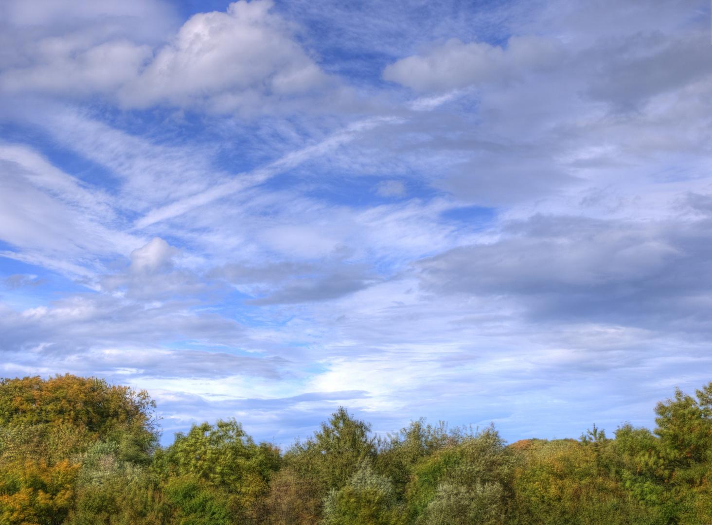 Herbsthimmel Velbert-Langenhorst