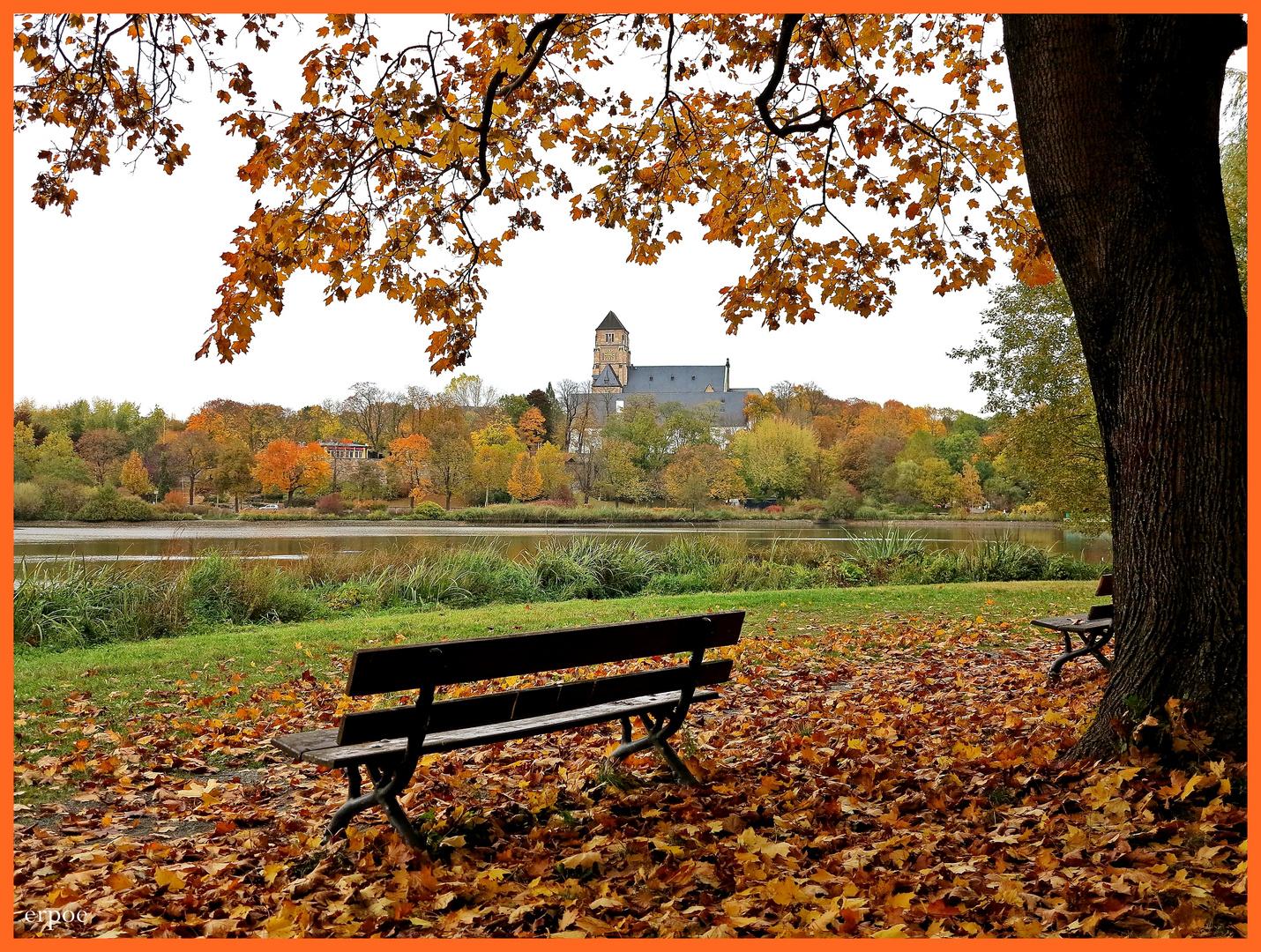 Herbstidylle in Chemnitz