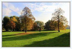 Herbstidylle in meinem Lieblingspark