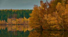 Herbstimpression am See