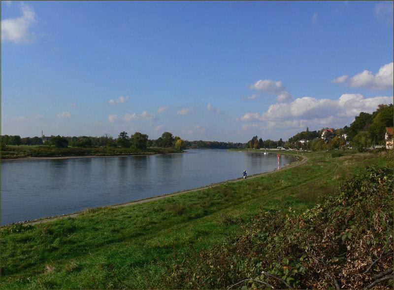 Herbstimpressionen - Elberadweg