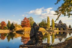 Herbstimpressionen im Wörlitzer Park