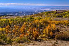 Herbstlandschaft am Scenic Byway 12, Utah, USA