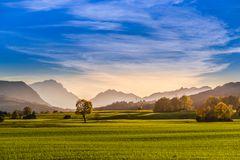 Herbstlandschaft im Pfaffenwinkel, Oberbayern