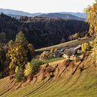 Herbstlandschaft vom Plesch aus gesehen