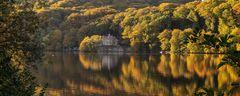 Herbstleuchten am Seeschlößchen