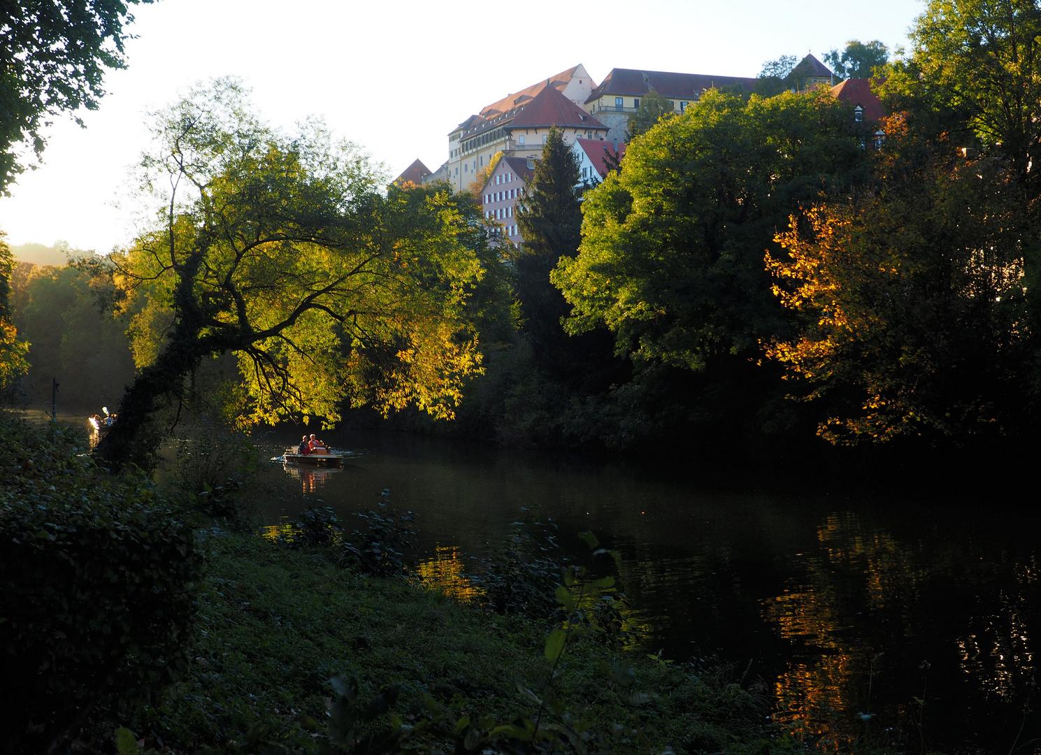 Herbstleuchten in Tübingen