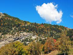Herbstliche Berggegend!