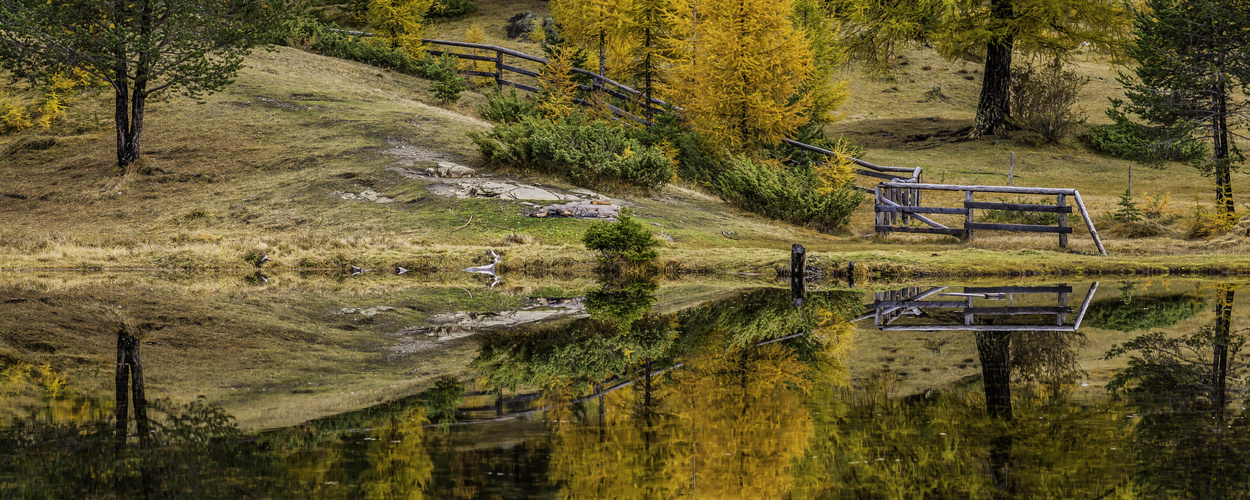 Herbstliche Impression am See