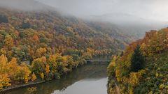 Herbstliche Impressionen am Edersee