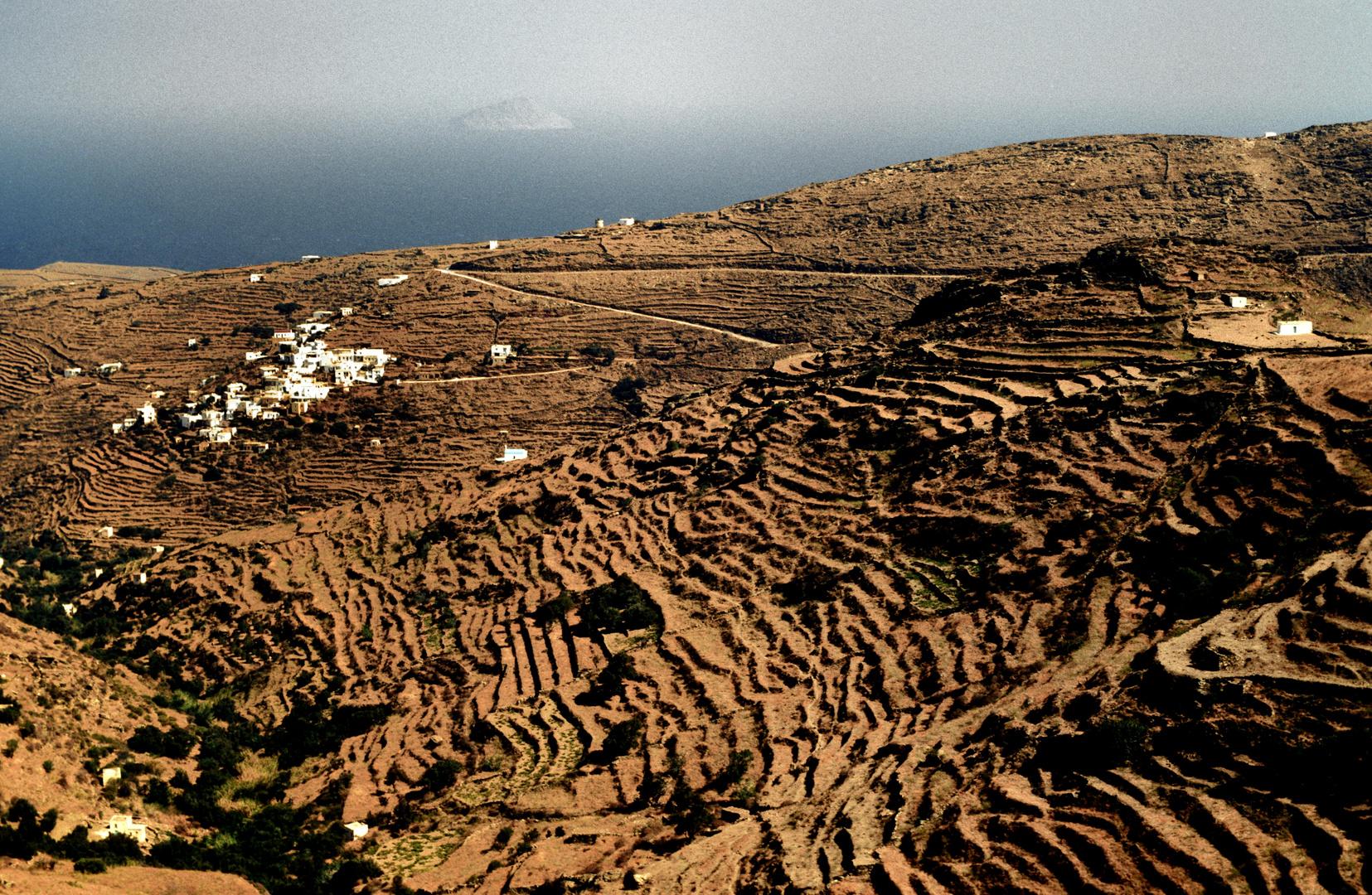 Herbstliche Landschaft auf Serifos