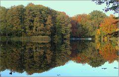 Herbstliche Spiegelung ...