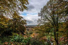 Herbstlicher Blick in Münsterland 1