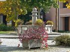 Herbstlicher Brunnen.
