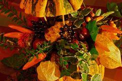 Herbstlicher Früchtekorb
