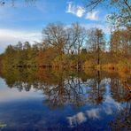 Herbstlicher Langbürgner See