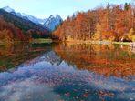 Herbstlicher Riessersee...