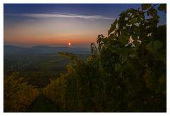 Herbstlicher Sonnenuntergang