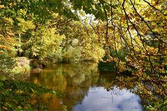 Herbstlicher Tuschkasten