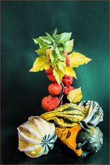 Herbstliches Arrangement...