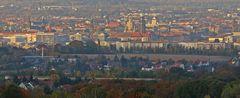 Herbstliches Dresden in einer Ausschnittsvergrößerung neu